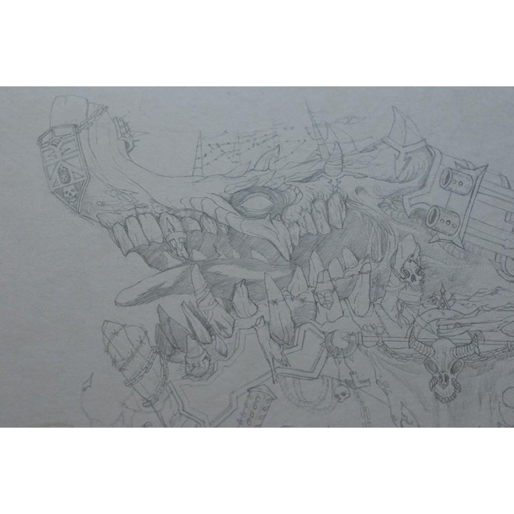 Lords of chaos - original artwork