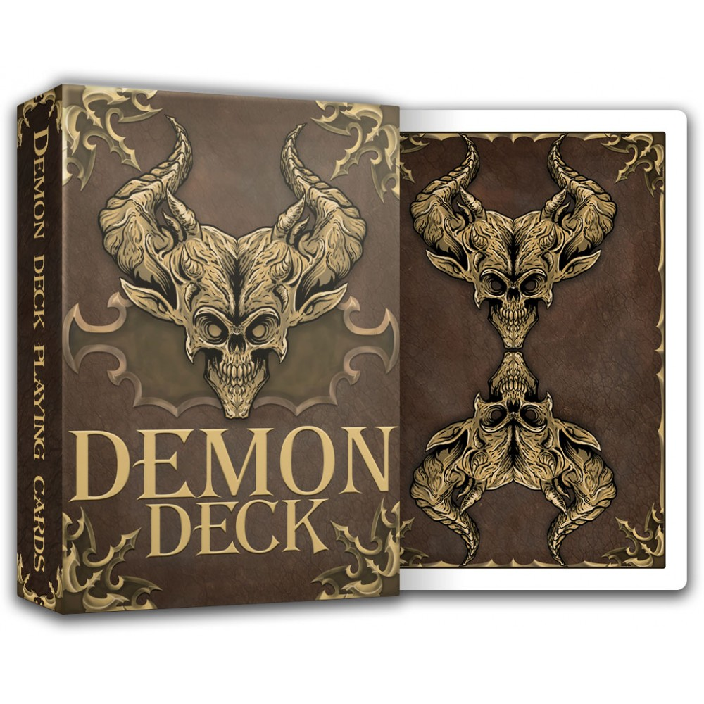Demon Deck - playing cards