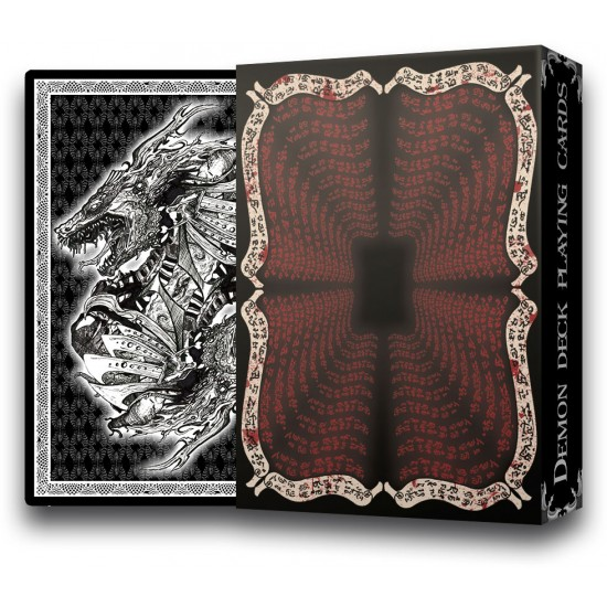 Demon Deck - playing cards Limited edition