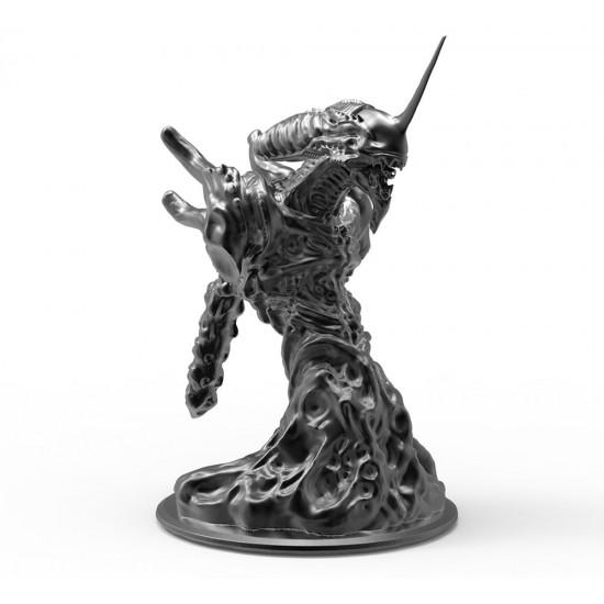 Alien - Unit 01 bust. 3D model.