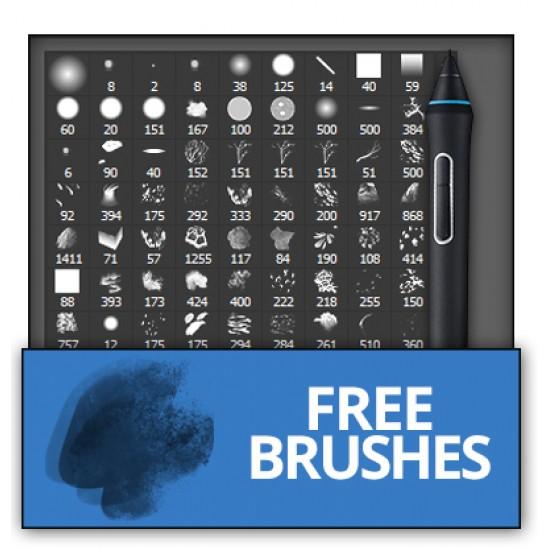 Custom brushes for Adobe Photoshop CS6