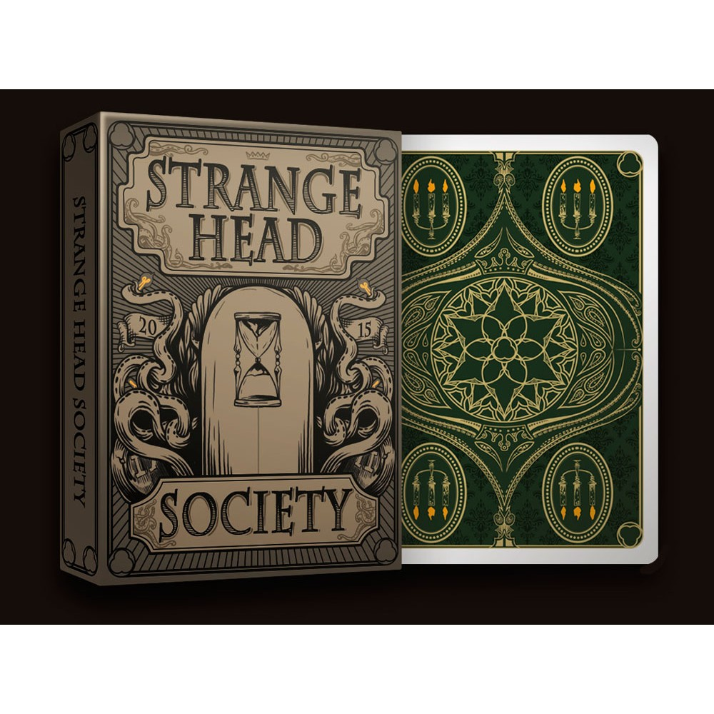Strange head society - playing cards