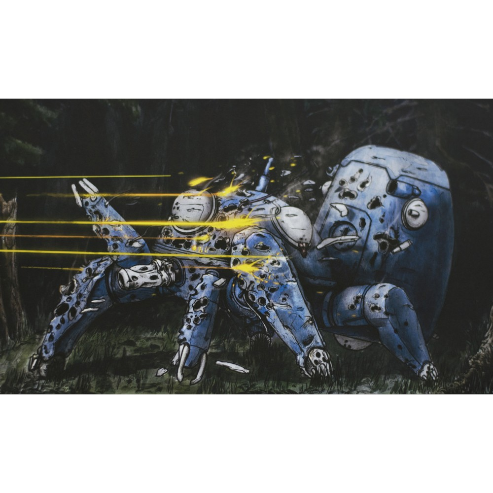 """Death of Tachikoma"" poster"
