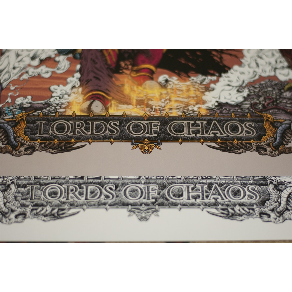 Lords of chaos - art print