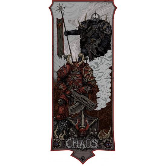 Warhammer 40000 poster - Chaos