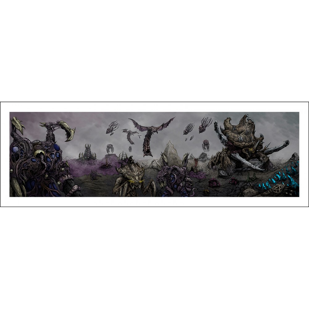 Zerg attack! poster