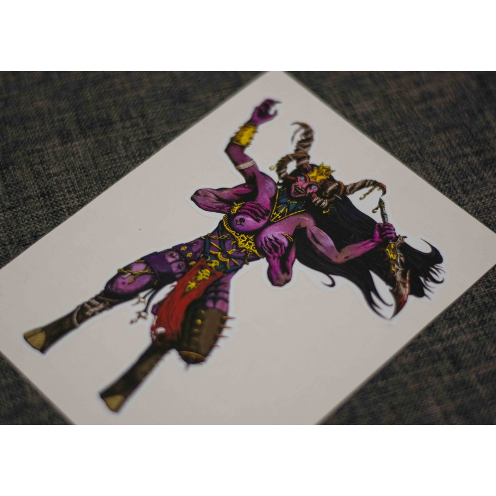 Slaanesh - Lord of Chaos sticker