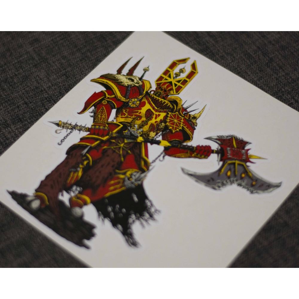 Кхорн - Lord of Chaos стикер