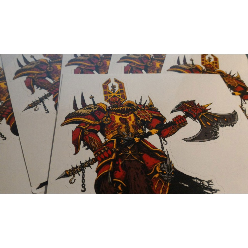 Khorne - Lord of Chaos sticker