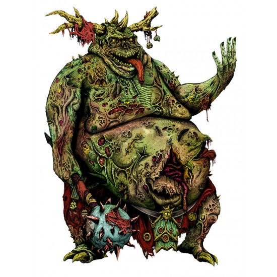 Nurgle - Lord of Chaos sticker