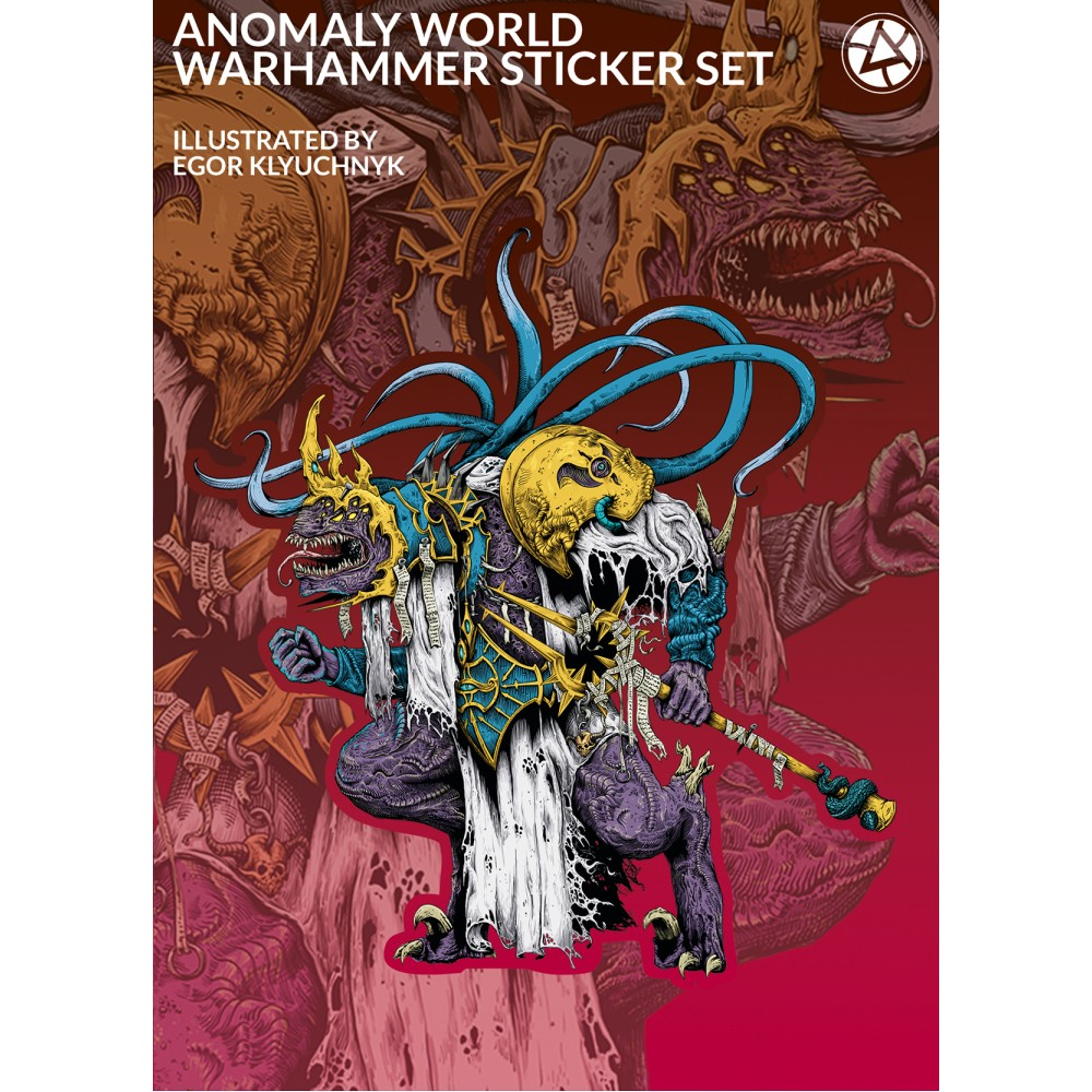 Lord of Chaos - 5 Sticker set