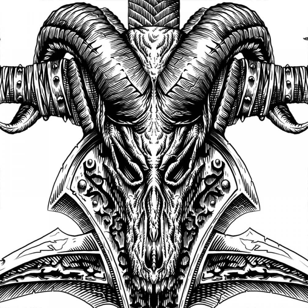 Frostmourne. Warcraft poster