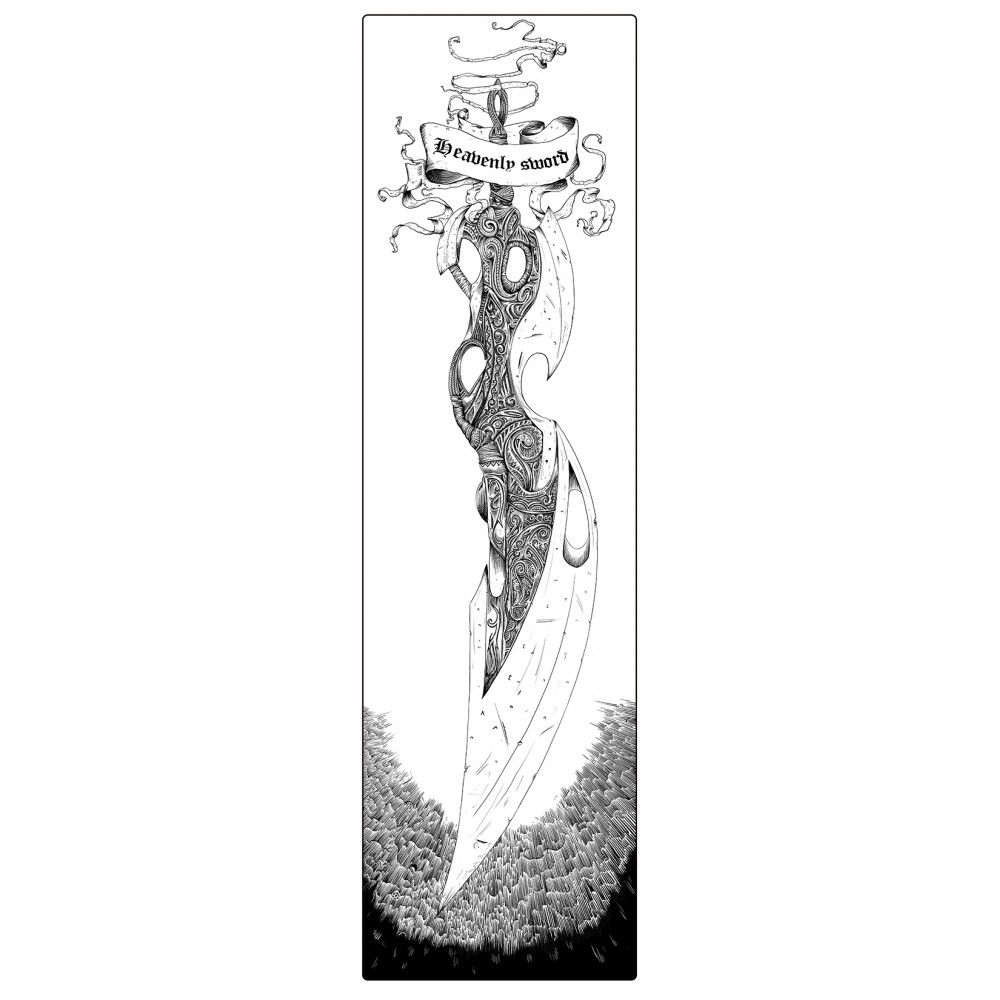 """Heavenly sword. """"Heavenly sword"""" poster"""