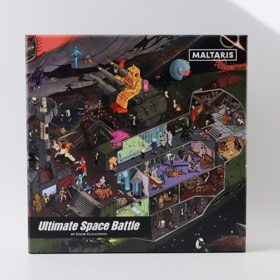 Ultimate Space Battle - Jigsaw puzzle 1000 pieces.