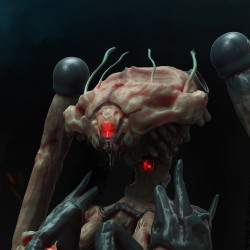 Bio robot from other world