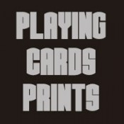 Playing cards prints (5)