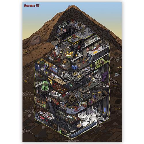 Universe 113 плакат